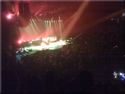 Rush on Stage in Moline Illinois