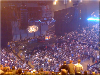 Rush Stage during intermission